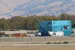 9-17-2016-LVK-Airport-IMG_4497 (aaron_anderer) Tags: lvk airport livermore airplane n164pd whalemural whale mural sewer