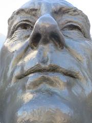 Around New York: Roosevelt Island, Sep. 2016 (yapima1) Tags: newyork rooseveltisland fourfreedoms fdr franklindelanoroosevelt sculpture