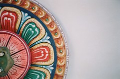 rose (jamiehladky) Tags: rose 35mm temple paint decorative buddha buddhist decoration olympus plaster mm ornate mould 35 mjuii pahang cornice soffit mju2 compact35 jamiehladky hladky