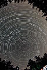 2012 Lyrid meteor shower (Mickut) Tags: startrails meteors magiclantern lyrids komakallio