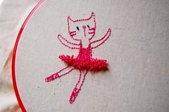 WIP Gata bailarina / Ballerina Kitty (~ tilde ~) Tags: fsfeature
