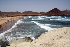 Playa de los Genoveses (SeabiscuitNT) Tags: espaa beach de los cabo playa andalucia gata almeria genoveses