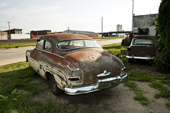 1950 Mercury Monterey (Curtis Gregory Perry) Tags: auto car 30 monterey highway rust automobile nebraska mercury rear rusty mobil chrome rusted motor coupe 1950 gibbon automvil xe automobil     samochd  kotse  otomobil   hi worldcars   bifrei  automobili   gluaisten