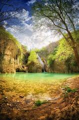 Hotnitsa waterfall (geopalstudio) Tags: hdr d7000 promoteremotecontrol machineryhdrefex