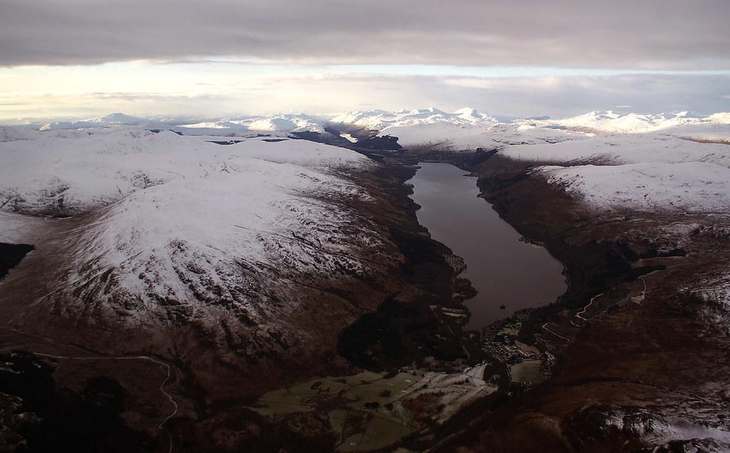 Loch Earn from near Comrie