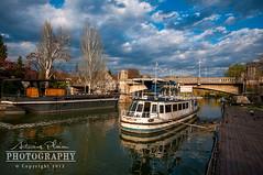 Timisoara - Abandoned boat on Bega Canal (Antonius Plaian) Tags: romania timisoara banat bega temesvar 1exp nikond300 nikkor1424mm beghei