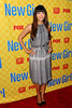 Hannah Simone, at the 'New Girl' academy screening at the Leonard H. Goldenson Theatre in North Hollywood. Los Angeles, California