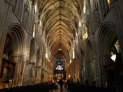 Worcester Cathedral interior