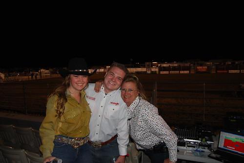 Anita Jesser, Molly Wineland, and Jacob Nelson
