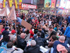 Occupy Wall Street: May 15, Another City Is Possible, Times Square, The People's Assembly (Scoboco) Tags: nypd timessquare gothamist m15 15m newyorkpolice may15 ows occupy globaldayofaction thisiswhatdemocracylookslike redsteps wallstreetprotest americanspring anothercityispossible occupywallstreet wearethe99 wallstreetdemonstration occupytimessquare occupywallstreetnypd owsnypd owsmay15 occupywallstreetmay15 owsm15 occupyfatherduffysquare georgecohenstatue timessquareredsteps tktsredsteps peoplesassemblytimessquare