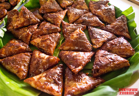 Turon Pinipig from Malabon