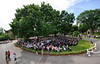 SBC Commencement 2012 from Clock Tower