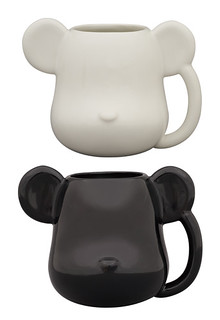 MEDICOM TOY - BE@RBRICK 馬克杯&托盤