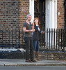 Hayley Atwell and Paul Wilson out and about in Dublin Dublin, Ireland