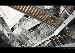 Architectural Chaos (Geraldos ) Tags: architecture stairs nikon chaos interior interieur treppe trap druk d800 architektuur architekut geraldos wirwar geraldemming drukkeboel maardooreenzekerearchitektechtzobedacht misschienmoestiedereenerzichmeebemoeien