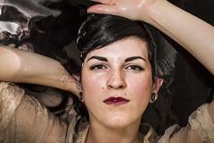 Jessi (austinspace) Tags: portrait woman water washington spokane bathtub brunette alienbees
