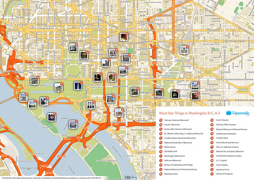 Flickriver Photos from Tripomatic – Seattle Tourist Attractions Map