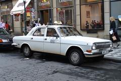 Taxi Praha - Wolga M24 (RayKippig) Tags: auto car prague cab taxi prag praha tschechien czechrepublic volga wolga m24 gaz24