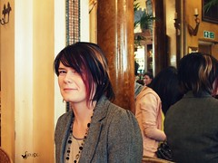 Emma (Autumn Hoang) Tags: uk face friend oxford afternoontea teahouse teaparty thegrandcafe