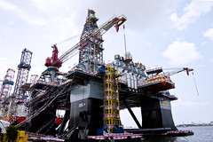 ENSCO Oil Rig (littlewing) Tags: canon industrial occupational 16mm oilrig 1022 50d