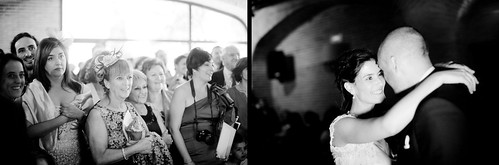 El baile nupcial de los novios en una boda en 2011 - Edward Olive Fotografia analogica artistica bodas Madrid España Barcelona Costa del Sol