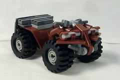 ATV (Kyle Peckham) Tags: lego small atv fourwheeler