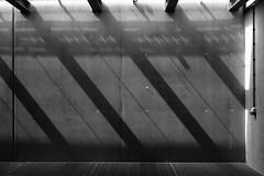 Dark shadows (Daniel Kulinski) Tags: city light urban lines wall backlight dark concrete mirror design town back construction europe image daniel cement creative picture shapes samsung poland structure frame civic imaging build shape 1977 less beton nx nx200 kulinski daniel1977 samsungnx samsungimaging samsungnx200 danielkulinski