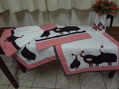 Angolas (Paty Patch) Tags: patchwork galinhas angolas patchaplique jogodecozinhas