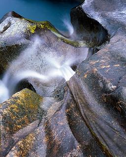 Glen Brittle - above the waterjet