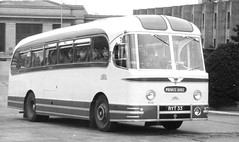 Forces special for this Reliance. (steve vallance coach and bus) Tags: london weymann aecreliance birchbros ryt33