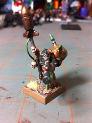 Warlock Engineer with Doomrocket (benjibot) Tags: warhammer skaven warlockengineer