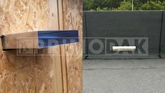 Dakdekker: Bij ieder groot dak worden er overstorten geplaatst met voldoende capaciteit . Indien de afvoeren verstopt raken voeren de overstorten het water af en voorkom je het inklappen van het dak