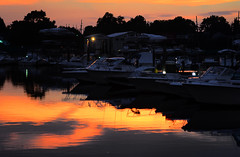 Marina at Dusk (hpaich) Tags: desktop sunset wallpaper reflection water marina boat twilight ship dusk background reflect nautical moor desktopwallpaper desktopbackground moored