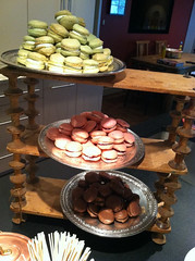 Our Newest - Macarons! (CopperKitchenMD) Tags: wedding summer spring display rustic crab bbq baltimore event chef tablesetting cater kevinmiller copperkitchen