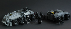 DARKWATER Ground Forces (✠Andreas) Tags: lego darkwater pmc thepurge legoapc thepurgedarkwater legofuturisticapc