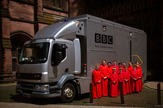 BBC Outside Broadcasts (cathedralchoir) Tags: bbcbroadcast