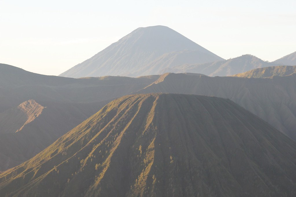 Peak upon peak, Gunung Bromo, East Java, Indonesia
