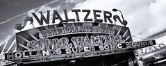 Waltzer. (sidibousaid60) Tags: uk carnival blackandwhite bw blancoynegro buxton ride fairground derbyshire fair waltzer funfair