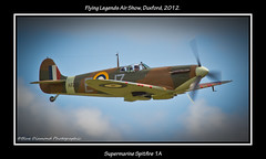 SUPERMARINE SPITFIRE 1A (Wings & Wheels Photography.) Tags: wwii duxford bdp cambridgeshire raf 2012 imperialwarmuseum battleofbritain iwm royalairforce flyinglegendsairshow canoneos7d supermarinespitfire1a bluediamondphotographic