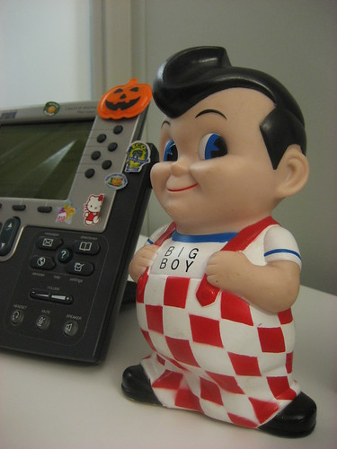 Day 195 - Big Boy comes to the office