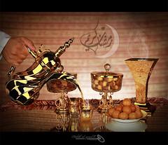۩ رمضان كريم ۩ (Halah Al-yousef ||||) Tags: coffee canon eos ii 7d l 17 usm 40mm f4 580ex كريم قهوه كل شهر speedlite بخور halah عام بخير رمضان تمر وانتم 430ex هاله كانون دله فنجال اليوسف alyousef halahalyousef