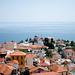 Grecian cityscape