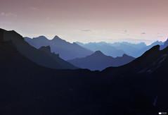Bluemlisalphutte (I) (Daniel Wildi Photography) Tags: morning mountains sunrise switzerland view sac hike layers kandersteg mountainhut 2012 refuge berneseoberland hohtrli oeschinensee summits griesalp blemlisalphtte cantonofbern danielwildiphotography