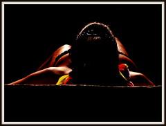 Sombra e Luz I (Jos Luis Lpez Vzquez) Tags: woman naked nude nikon chica body jose playa luis silueta lopez lugo jos siluetas sixto vazquez sisto vzquez lpez ourol s8000 orol