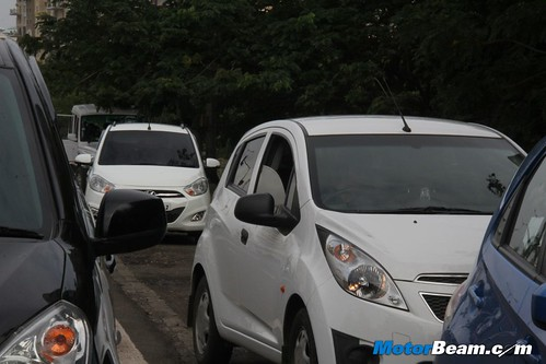 Honda Brio Vs Chevrolet Beat Shootout Comparison