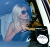 Mollie King Celebrities leaving their hotel after attending the wedding of Rochelle Wiseman and Marvin Humes which took place on Friday (July 27) at Blenheim Palace England