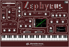 Zephyrus VST Instrument Hybrid Synthesizer (Analog Synthesis and SoundFont Oscillator) (Syntheway) Tags: windows test music distortion rock analog digital demo effects mac keyboard experimental factory sampler background pad free player testing full textures organ musical filter virtual synth software sound instrument download linux ambient pitch plugin electronica sonar patch fx midi hybrid audio synthesizer daw leads synthesis sequencer pads sf2 oscillator waveform sampling modulation glide cakewalk cubase vst atmos flstudio zephyrus clavinet presets vsti portamento soundfont sonarx1 syntheway daniellaiseca