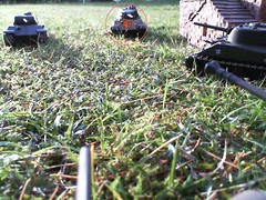 Wolverine fires on KingTiger (Gampire) Tags: moving it ii while combat fires wolverine missed panzer kingtiger