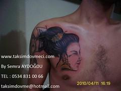 Geisha tattoo / Geisha dövme (taksim beyoğlu dövmeci) Tags: woman art tattoo artist femme models drawings istanbul tattoos taksim examples vrouwen tatouage bayan mannen kiz modèle modelleri dovme çizimler dovmeciler taksimdovme dovmemodelleri dovmesi