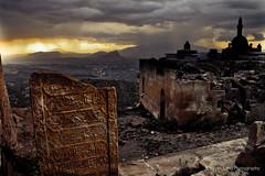Ishak Pasa Palace, Turkey (Bryan-Long-Photography) Tags: light storm rain turkey evening dramatic palace settingsun dogubayazit isakpasha